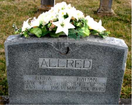 ALLRED, LABAN - Carroll County, Arkansas | LABAN ALLRED - Arkansas Gravestone Photos