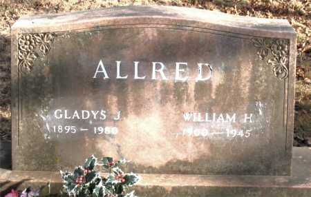 ALLRED, WILLIAM  H. - Carroll County, Arkansas | WILLIAM  H. ALLRED - Arkansas Gravestone Photos