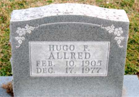 ALLRED, HUGO  F. - Carroll County, Arkansas | HUGO  F. ALLRED - Arkansas Gravestone Photos