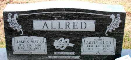 ALLRED, ARTIE RUTH - Carroll County, Arkansas | ARTIE RUTH ALLRED - Arkansas Gravestone Photos