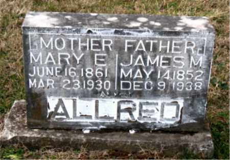 ALLRED, MARY E. - Carroll County, Arkansas | MARY E. ALLRED - Arkansas Gravestone Photos