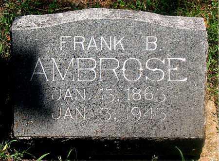 AMBROSE, FRANK BARTON - Carroll County, Arkansas | FRANK BARTON AMBROSE - Arkansas Gravestone Photos