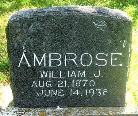 AMBROSE, WILLIAM J. - Carroll County, Arkansas | WILLIAM J. AMBROSE - Arkansas Gravestone Photos