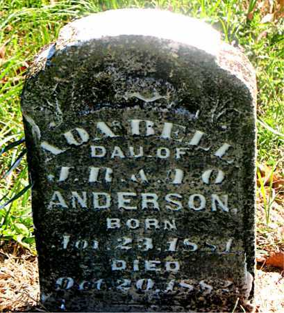 ANDERSON, ADA BELL - Carroll County, Arkansas | ADA BELL ANDERSON - Arkansas Gravestone Photos