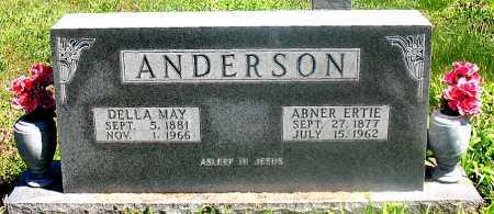 ANDERSON, ABNER ERTIE - Carroll County, Arkansas | ABNER ERTIE ANDERSON - Arkansas Gravestone Photos