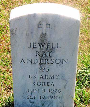 ANDERSON (VETERAN KOR), JEWELL RAY - Carroll County, Arkansas | JEWELL RAY ANDERSON (VETERAN KOR) - Arkansas Gravestone Photos