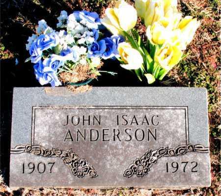 ANDERSON, JOHN ISAAC - Carroll County, Arkansas | JOHN ISAAC ANDERSON - Arkansas Gravestone Photos