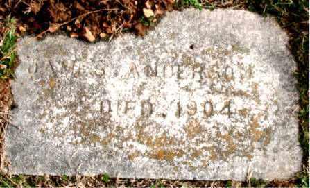 ANDERSON, JAMES - Carroll County, Arkansas   JAMES ANDERSON - Arkansas Gravestone Photos