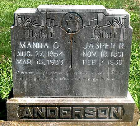 ANDERSON, JASPER R. - Carroll County, Arkansas | JASPER R. ANDERSON - Arkansas Gravestone Photos