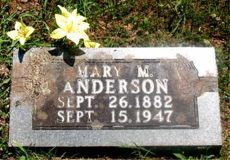 FILBECK ANDERSON, MARY MELISSA - Carroll County, Arkansas | MARY MELISSA FILBECK ANDERSON - Arkansas Gravestone Photos
