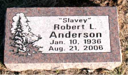 "ANDERSON, ROBERT L. ""SLAVEY"" - Carroll County, Arkansas 
