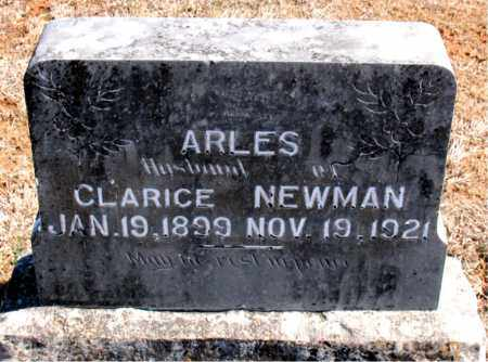 ARLES, CLARICE - Carroll County, Arkansas | CLARICE ARLES - Arkansas Gravestone Photos