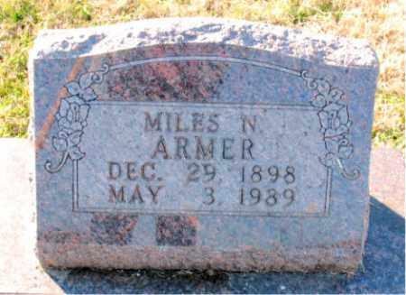 ARMER, MILES  N. - Carroll County, Arkansas | MILES  N. ARMER - Arkansas Gravestone Photos
