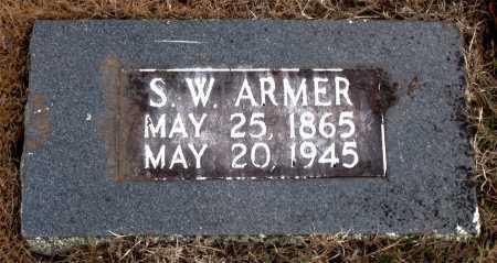 ARMER, S.  W. - Carroll County, Arkansas | S.  W. ARMER - Arkansas Gravestone Photos