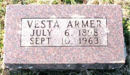 ARMER, VESTA - Carroll County, Arkansas   VESTA ARMER - Arkansas Gravestone Photos