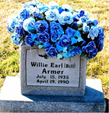 ARMER, WILLIE EARL (BILL) - Carroll County, Arkansas | WILLIE EARL (BILL) ARMER - Arkansas Gravestone Photos