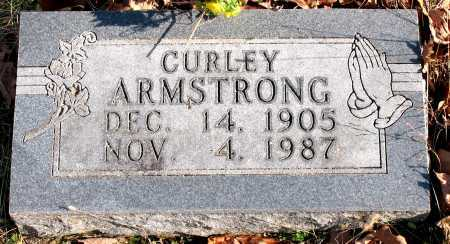 ARMSTRONG, CURLEY - Carroll County, Arkansas | CURLEY ARMSTRONG - Arkansas Gravestone Photos