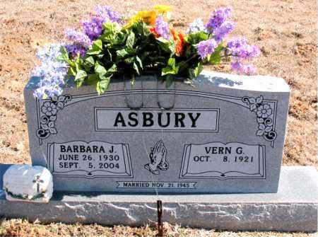 ASBURY, BARBARA J. - Carroll County, Arkansas | BARBARA J. ASBURY - Arkansas Gravestone Photos