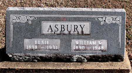 ASBURY, WILLIAM W - Carroll County, Arkansas | WILLIAM W ASBURY - Arkansas Gravestone Photos