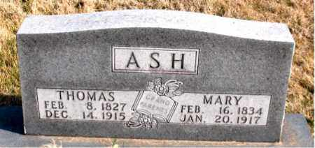 ASH, MARY - Carroll County, Arkansas | MARY ASH - Arkansas Gravestone Photos
