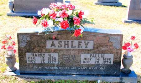 ASHLEY, FALLIE - Carroll County, Arkansas | FALLIE ASHLEY - Arkansas Gravestone Photos