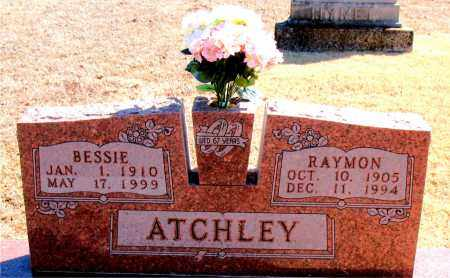ATCHLEY, BESSIE - Carroll County, Arkansas | BESSIE ATCHLEY - Arkansas Gravestone Photos