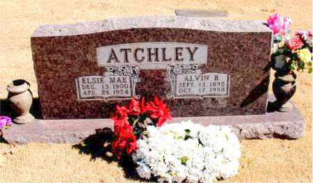 ATCHLEY, ALVIN  B. - Carroll County, Arkansas | ALVIN  B. ATCHLEY - Arkansas Gravestone Photos