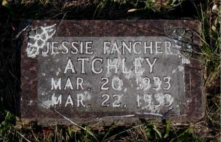 ATCHLEY, JESSIE - Carroll County, Arkansas | JESSIE ATCHLEY - Arkansas Gravestone Photos