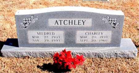ATCHLEY, CHARLEY - Carroll County, Arkansas | CHARLEY ATCHLEY - Arkansas Gravestone Photos