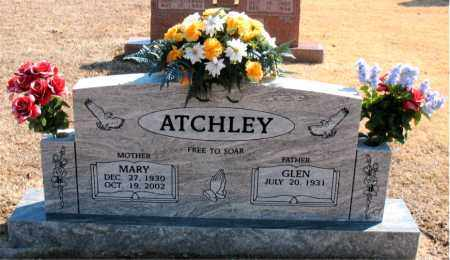 ATCHLEY, MARY - Carroll County, Arkansas | MARY ATCHLEY - Arkansas Gravestone Photos