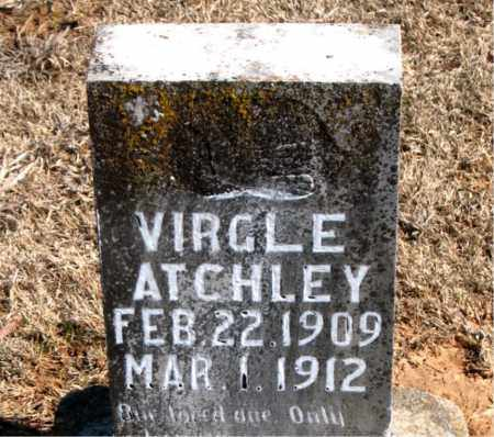 ATCHLEY, VIRGLE - Carroll County, Arkansas | VIRGLE ATCHLEY - Arkansas Gravestone Photos