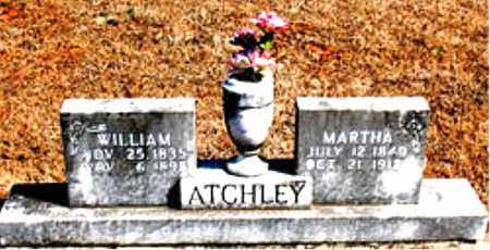ATCHLEY, MARTHA - Carroll County, Arkansas | MARTHA ATCHLEY - Arkansas Gravestone Photos