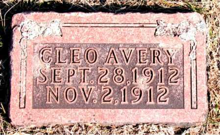 AVERY, CLEO - Carroll County, Arkansas | CLEO AVERY - Arkansas Gravestone Photos