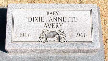 AVERY, DIXIE  ANNETTE - Carroll County, Arkansas | DIXIE  ANNETTE AVERY - Arkansas Gravestone Photos