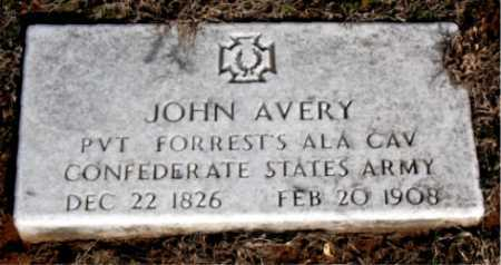 AVERY (VETERAN CSA), JOHN - Carroll County, Arkansas | JOHN AVERY (VETERAN CSA) - Arkansas Gravestone Photos