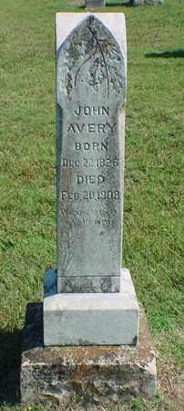 AVERY, JOHN - Carroll County, Arkansas | JOHN AVERY - Arkansas Gravestone Photos