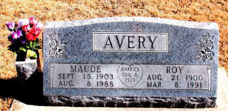 AVERY, ROY - Carroll County, Arkansas | ROY AVERY - Arkansas Gravestone Photos