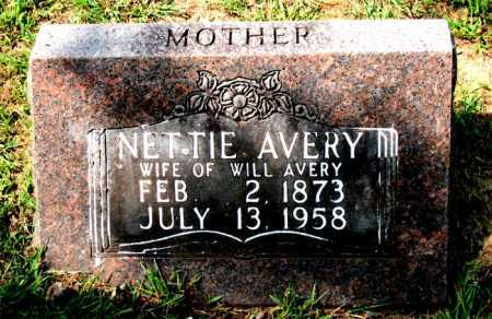 RICE AVERY, NETTIE - Carroll County, Arkansas | NETTIE RICE AVERY - Arkansas Gravestone Photos
