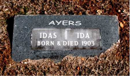 AYERS, IDA - Carroll County, Arkansas | IDA AYERS - Arkansas Gravestone Photos