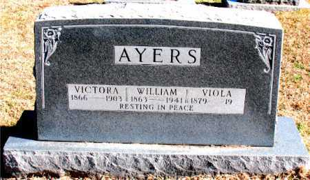 AYERS, WILLIAM - Carroll County, Arkansas | WILLIAM AYERS - Arkansas Gravestone Photos