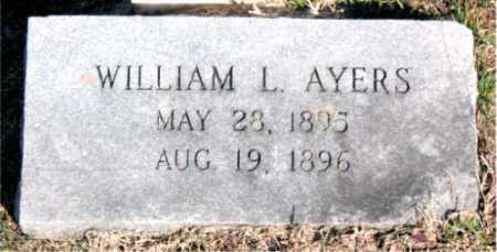 AYERS, WILLIAM L. - Carroll County, Arkansas | WILLIAM L. AYERS - Arkansas Gravestone Photos