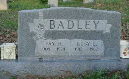 BADLEY, FAY H. - Carroll County, Arkansas | FAY H. BADLEY - Arkansas Gravestone Photos