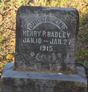 BADLEY, HENRY P. - Carroll County, Arkansas | HENRY P. BADLEY - Arkansas Gravestone Photos
