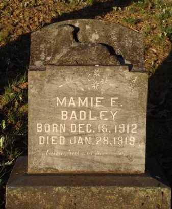 BADLEY, MAMIE E. - Carroll County, Arkansas | MAMIE E. BADLEY - Arkansas Gravestone Photos