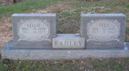 BADLEY, NELLIE - Carroll County, Arkansas | NELLIE BADLEY - Arkansas Gravestone Photos