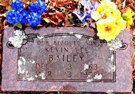BAILEY, KEVIN LEE - Carroll County, Arkansas | KEVIN LEE BAILEY - Arkansas Gravestone Photos