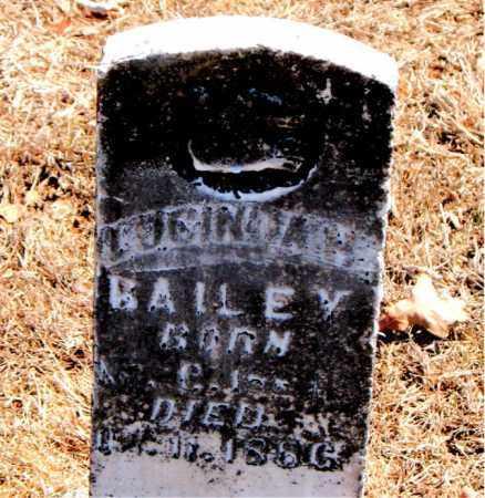 BAILEY, LUCINDA H. - Carroll County, Arkansas | LUCINDA H. BAILEY - Arkansas Gravestone Photos