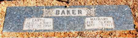 BAKER, EARTLE - Carroll County, Arkansas | EARTLE BAKER - Arkansas Gravestone Photos