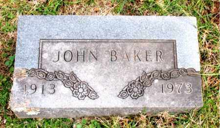 BAKER, JOHN - Carroll County, Arkansas | JOHN BAKER - Arkansas Gravestone Photos