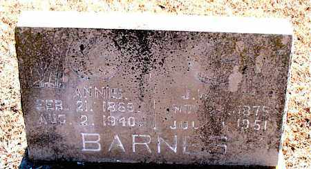 BARNES, J. W. - Carroll County, Arkansas | J. W. BARNES - Arkansas Gravestone Photos